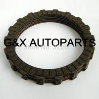 T125 clutch plate, WAVE 125 clutch plate set, plate friction T125 OEM quality, 4pcs or 5pcs per set