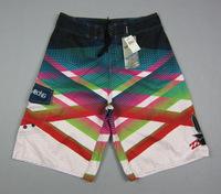 Hot sale bilabong short board 2014 100%peach material boys shorts childrens short surf  quick-drying boys beach shorts red green
