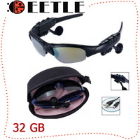 Fashion Men Women 32GB Mp3 Player 32GB Sunglasses Mp3 Headset Car Mp3 Player Headphone Glasses,Sport Mp3 Player