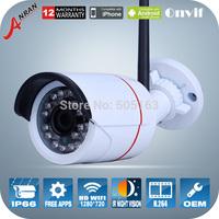 Anran H.264 Video 720P Camera 1MP HD mini Waterproof Outdoor IR Night Vision WIFI Camera Network Surveillance Security Cameras