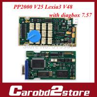 Best Quality PP2000 V25 Lexia3 Lexia-3 V48 Diagbox 7.57  With Original Full Chip Lexia 3 PP2000 Citroen Peugeot Diagnostic Tool