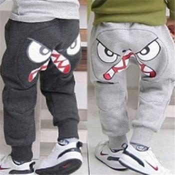 Новинка популярные дети мальчики девушка уникальные одежда шаровары брюки мультфильм дети Sz3-7Y бесплатная доставка