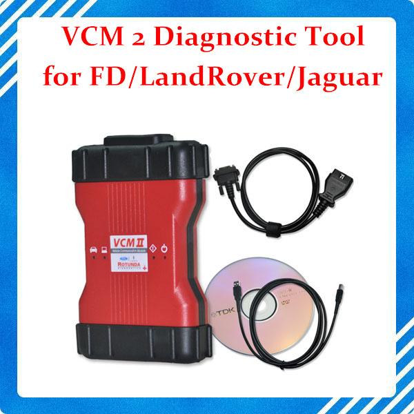 VCM II Fd VCM 2 Professional Diagnostic Scanner with Wifi VCM 2 for LandRover/Fd/Jaguar JLR V137 2 in 1 VCM Scanner(China (Mainland))