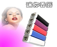 [Power bank] Lipstick 2600mAh External Small Rechargeable Battery Power Bank Batery Free shipping