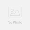 Fashion High Quality Elegant Print Chiffon Three Quarter Sleeve Asymmetrical Size Plus Dress For Women With Belt 5809#