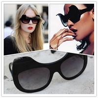 Anna -Fashion sun glasses Karin Hipster Cat ears sunglasses cool Karlsson detonation  Rock party Mask eyeglasses Original Box