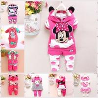 New 2014 winter conjuntos Warm thick lace Baby Girls roupa infantil clothing set newbron coat+pants kids bebe clothes
