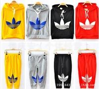 Free shipping 2014 new Children's clothing set sweater+pant fashion boys girls clothes brand kids set retail