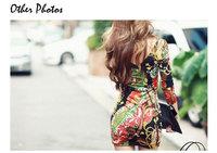 2014 Ladies Casual Clothes Bohemian Sexy Bodycon Dress Floral Print Mini Party Nightclub Dress Boho Vestido Estampado Summer