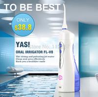 YASI FL-V8 High Pressure Dental Water Jet Oral irrigator Blue&Pink Color