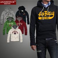 Brand men hoodie Anjoy Fitch  man hoody  sportswear Men's  Slim Hoodies sweatshirt   Hooded  clothing  tracksuit