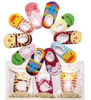 20 pieces/lot Baby Short Socks Children Floor Infant Cartoon Sock Newborn Shoes Toddler Non-slip Rubber Socks Lace Decoration