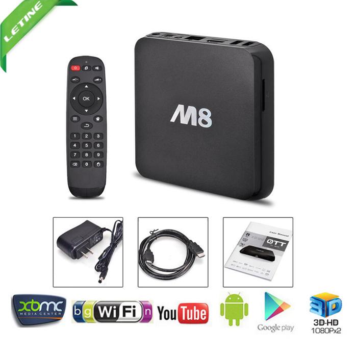 M8 Amlogic S802 Quad Core Google Android 4.4 Box Smart TV 2G / 8G Mali450 GPU 4K HDMI XBMC 2.4G / 5G WiFi dual DOLBY DTS HD Mini PC(China (Mainland))