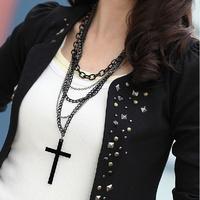 S M L XL XXL New Arrinal 2014 Summer Diamond Blazer Slim Women's Autumn All-match Rivet Long-sleeve Coat Female Top Quality