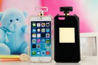 Luxury Mobile phone cases perfume bottle case 4.7 inch For iPhone 6 5 5S 4 4S For Samsung galaxy S5 i9600 S4 i9500 S3 note 2 3