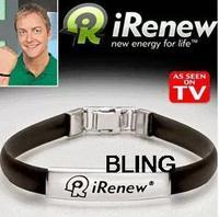 10pcs/lot Fashion Energy Bracelets Bangles Sport Men Women Wrist Band Strap Mix Color As Seen On TV Hot Sale