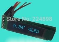 0.84 inch 14PIN Blue OLED Display Module SSD1306 Drive IC 96*16 I2C Interface