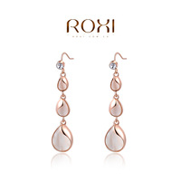 ROXI Brand 8.19 Big Sales Item Elegant Jewelry  earrings zircon Crystalwaterdrop  Earrings Accessories Rose Gold Plated Jewelry