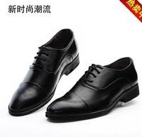 Men leather shoes couro sapato marcas famosas shoes leather pointed toe lace-up men's dress shoes men casual shoes