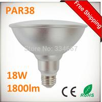 PAR38 18W 1800lm LED Spots Bulbs Light E27 110V / 220V 18W PAR38 LED Spot Light Bulb Lamp