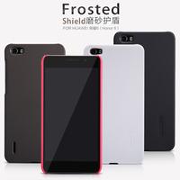 Free shipping Genuine Nillkin Super Shield Shell Hard Case Cover Skin Back + Screen Protector For Huawei Honor 6
