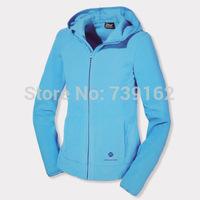 2014  fashion winter women brand hooded fleece clothing fleece sweater outdoor fleece jacket 3 color S-3XL Free shipping ny141