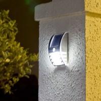 Newest  Body Sense Solar Lamp Garden Balcony Wall Lamp Outdoor Solar Energy Saving Lamp Solar Household Night Light    20pcs