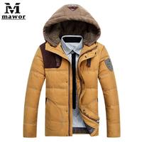 Keep Warm Men's Down Jacket,NEW 2014 Winter Down & Parkas,Top Qualiry Overcoat ,Outwear,Men's Clothing,Plus Size M-XXXL