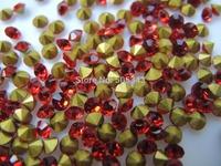 Wholesale SS14.5 1440pcs Point Back Rhinestones glass China A strass chatons stone