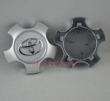 CHROME LOGO  Toyota Wheel Center Caps For Toyota Highlander Rav 4 Rav4 2001-2012(China (Mainland))