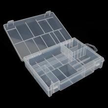 Transparent Battery Box Accumulator AA AAA C D 9V Battery Storage Case Organizer Holder