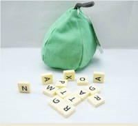 Children Scrabble Games Pear Board Games Kid Anagrams Word Games SG-004