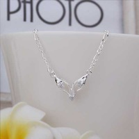 New Arrival!! Wholesale Cheap Fox Eyes Anklets 925 Silver plated Fashion Jewelry Personality Gift SMTA018