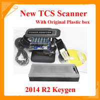 DHL free plastic box! TCS CDP pro 2014.R1 free actived TCS scanner tcs pro plus+ software &install video LED and flight function