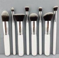 8 PCS Professional Soft Synthetic Hair Makeup Brush Facial Care Beauty Cosmetic Makeup Tools Makeup Brushes Loose Foundation
