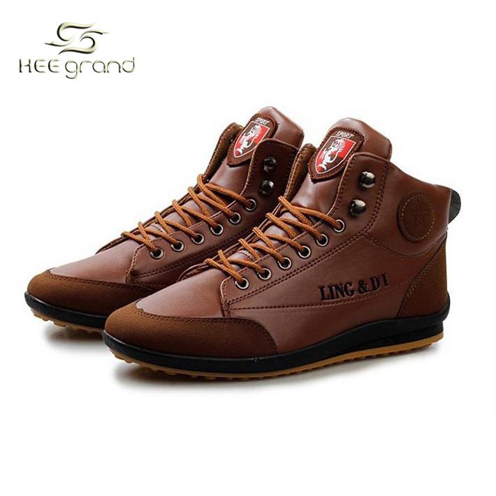 2015 горячая распродажа мужская мода <b>PU</b> кожаные сапоги ...