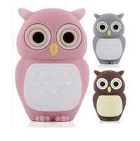 Novel lovely Owl 2GB 4GB 8GB 16GB usb flash drive 2.0 memory stick pen drive U disk on sale