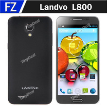 Landvo L800 5.0″ Capacitive Touch MTK6582 Quad Core Android 4.2.2 3G Mobile Phone RAM 512MB ROM 4GB 2MP CAM WCDMA In Stock