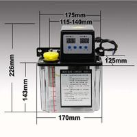 1.8L Automatic Lubrication Pump CNC Digital electronic Timer Oil Pump For CNC router