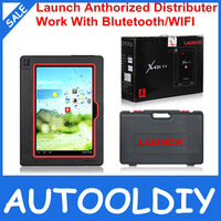 2014 hot sell Launch X431 V+ Wifi/Bluetooth Global Version Full System Scanner x-431 v+ with X431 easydiag as gift free shipping