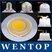 15W COB GU10 GU5.3 E27 E14 MR16 Dimmable LED Sport light lamp High Power bulb More than 120 degrees DC12V  AC 110V  220V 240V