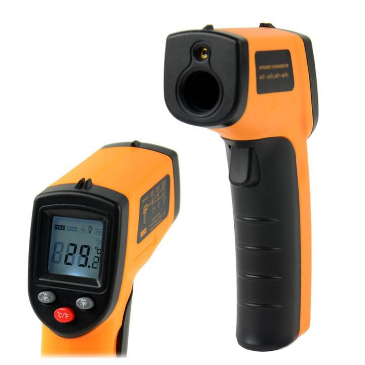 Nicht- kontakt digitale laserpistole infrarot ir thermometer temperatur meter industriellen lcd mit hintergrundbeleuchtung versandkostenfrei