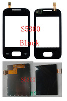 (Warranty 6 Months)(1Set by AM DHL EMS)100% Top Quality Guarantee for Samsung S5300 Touch Screen+LCD Screen Display