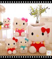 Stuffed & Plush Animals,Hello Kitty Toys Big Stuff Animal Best Gift 2014 New 25CM Size Good PPT Cotton Cheap Price Factory Sale