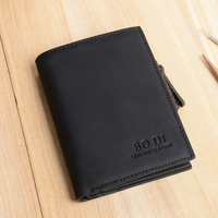 FREE SHIPPING new 2014 brand genuine leather men's wallet clutch money bags for women bag black coffee purse JY291