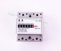 Din rail single phase KWH meter energy meter analog 5(20) 10(30) 15(90) 20(100) 5(40) 5(100) 10(50)A 50HZ or 60HZ 220V Watt