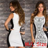 2014 New Print Floral Dress Bandage Dress celebrity Dresses Roupas Femininas Desigual Women Vestidos Femininos Shorts