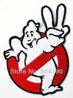 """4"""" GHOSTBUSTERS Team Movie TV Kids Embroidered LOGO Iron On Patch Emo Goth Punk Rockabilly Customized patch available"""