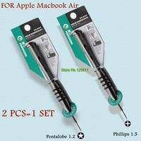 Professional Screwdriver call Phones DIY Repair Tools Pentalobe 1.2 + Phillips 1.5 Screw Driver SET for Apple Macbook Air
