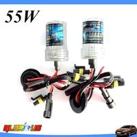 2 pcs 55w AUTO KIT HID XENON BULBSCar Lamps Headlights Fog Light H1 H3 H4-1 H7 H11 H8 H9 9005 9006 HB4 H27 HID xenon Bulb
